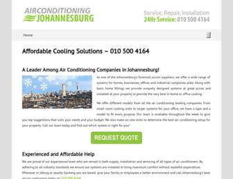 airconditioning-johannesburg.com screenshot