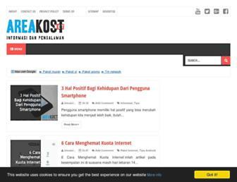 areakost.net screenshot