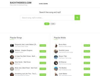 backthebees.com screenshot