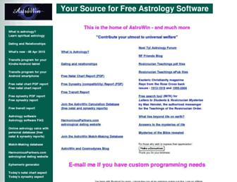 astrowin.org screenshot