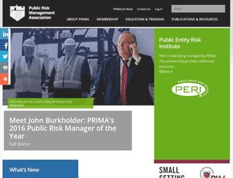 primacentral.org screenshot