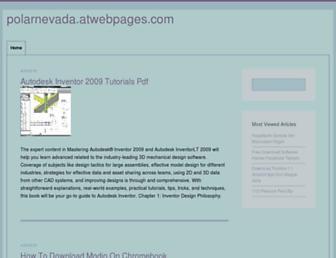 polarnevada.atwebpages.com screenshot