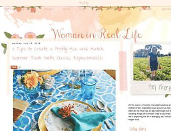 Thumbshot of Womaninreallife.com