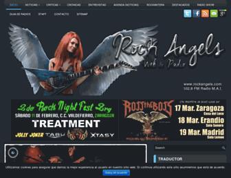 rockangels.com screenshot