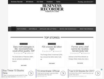 fp.brecorder.com screenshot