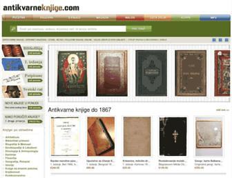 antikvarne-knjige.com screenshot