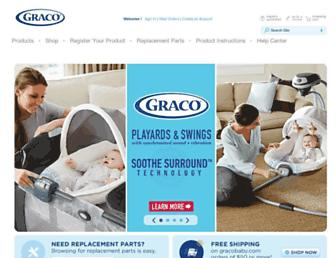 gracobaby.com screenshot