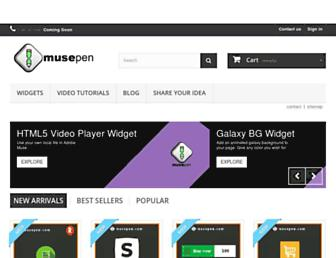 musepen.com screenshot