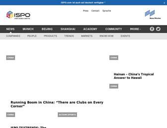 ispo.com screenshot