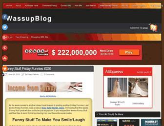 Thumbshot of Wassupblog.com