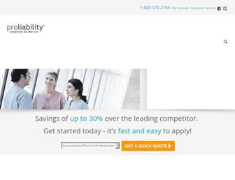 proliability.com screenshot