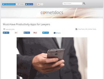 blog.cometdocs.com screenshot
