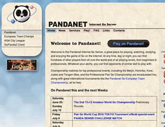 pandanet-igs.com screenshot