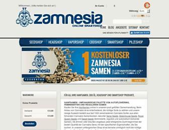 Thumbshot of Zamnesia.de