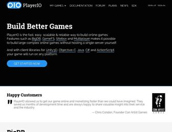 Thumbshot of Playerio.com