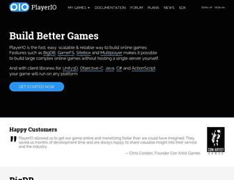 Thumbshot of Playerio.com