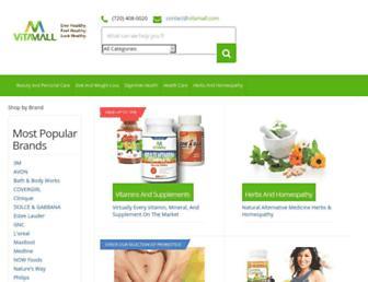 vitamall.com screenshot