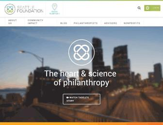 Thumbshot of Seattlefoundation.org