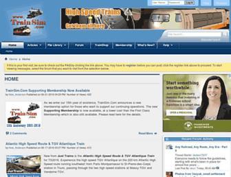 trainsim.com screenshot