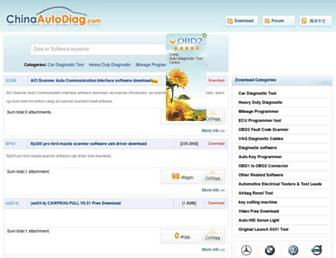 chinaautodiag.com screenshot