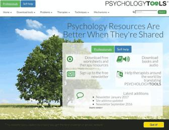 psychologytools.com screenshot