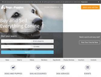 Thumbshot of Dogsandpuppies.co.uk