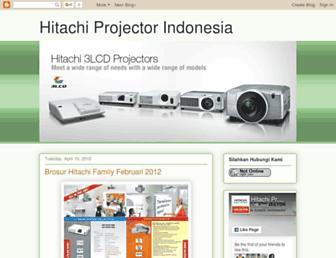 hitachiproyektor.blogspot.com screenshot