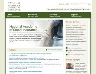 nasi.org screenshot