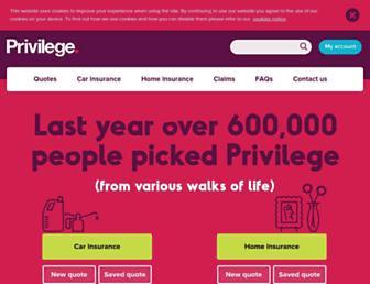 privilege.com screenshot