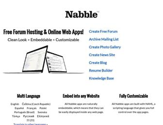 Thumbshot of Nabble.com