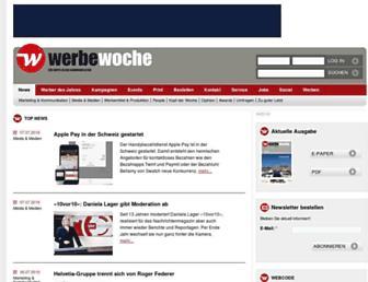 werbewoche.ch screenshot