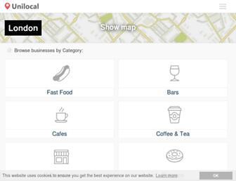 unilocal.co.uk screenshot
