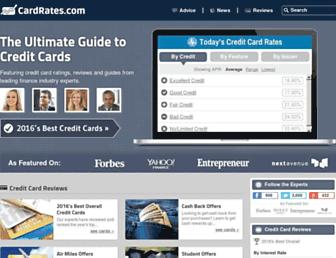 cardrates.com screenshot