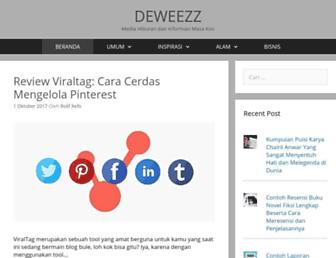 deweezz.com screenshot