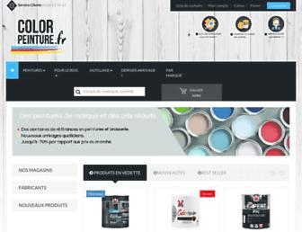 color-peinture.fr screenshot
