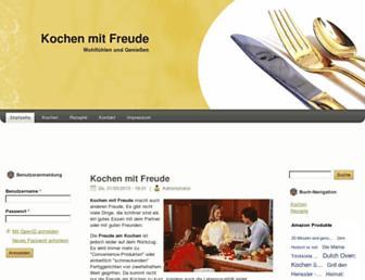 Thumbshot of Kochen-mit-freude.de