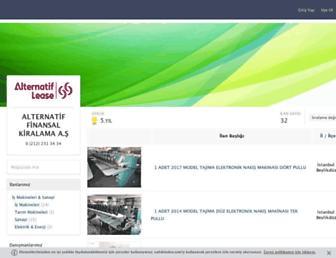 alternatiffinansalkiralama.sahibinden.com screenshot
