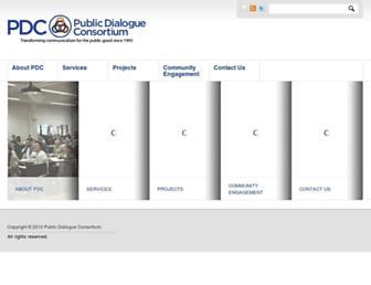 publicdialogue.org screenshot