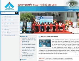benhvienmat.com screenshot