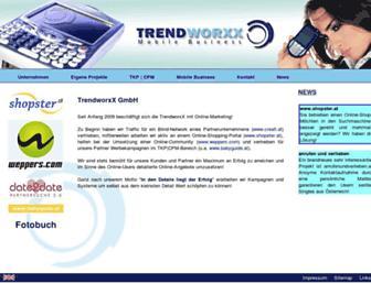 Thumbshot of Trendworxx.at