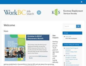 kes.bc.ca screenshot