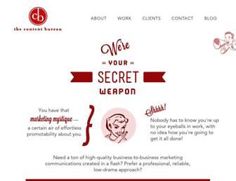 contentbureau.com screenshot