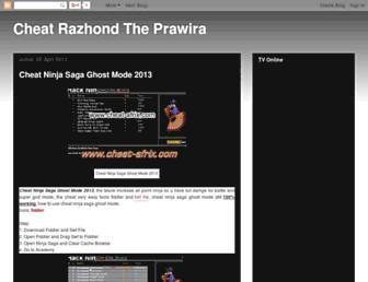 razhondthecheat.blogspot.com screenshot