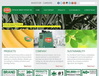 Thumbshot of Freshdelmonte.com
