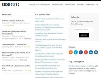 gisgig.com screenshot