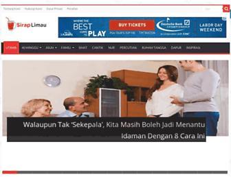 siraplimau.com screenshot