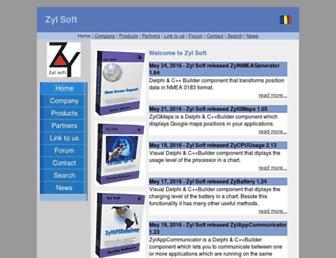 zylsoft.com screenshot