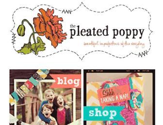 Thumbshot of Thepleatedpoppy.com