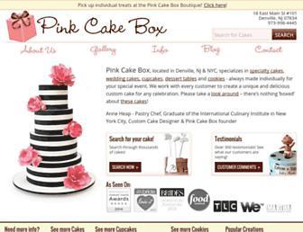 pinkcakebox.com screenshot