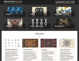 dicionariodesimbolos.com.br screenshot